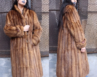 Vintage Mink Glamorous Fur Coat
