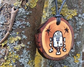 R2 D2 Star Wars Necklace Pendant Jewelry Original Kids Jewelry Scifi