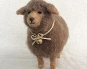 Wooly Brown Sheep Country Home Decor