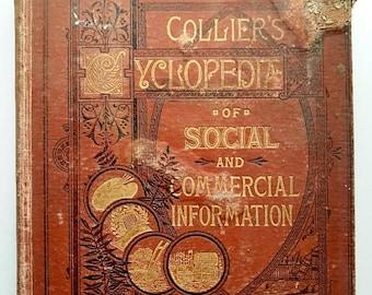 1882 Worn Cyclopedia