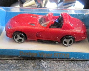 Euro Modell 1/64 Model Dodge Viper RT/10, Red Sports Car Miniature