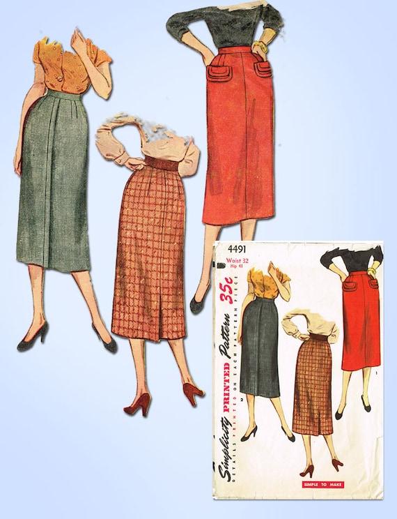 easy womens skirt patterns - photo #19