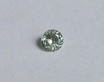 Kornerupine Rounds, Tanzanian Kornerupine,  5mm round Kornerupine, Kornerupine Gems, Tanzanian Gems, Blue Green Gems