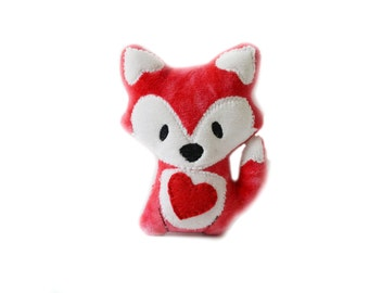 Red Fox |  Plush Fox Toy | Kawaii Plush | Valentines Day Gift | Gifts for Him | Gifts for Her | Nursery Decor |New Baby Gift | Baby Shower