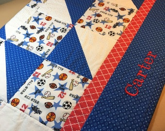 Baby Quilt - Personalized