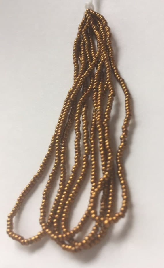 Antique  Metal Micro Beads -  Bronze