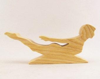 Locust Yoga Pose Figurine - Salabhasana