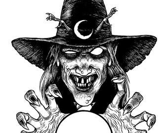 Thaumaturge Original Halloween Art