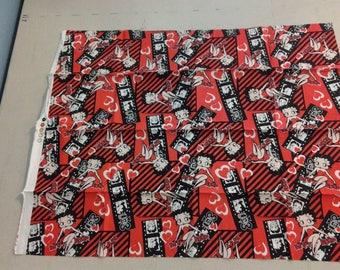 Betty Boop Fabric  247888
