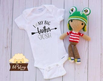 Baby Onesie/Bodysuit/ Baby gift/ Baby shower/Infant/Baby Clothing /Big Brother/Little Brother/ Coming Home Outfit