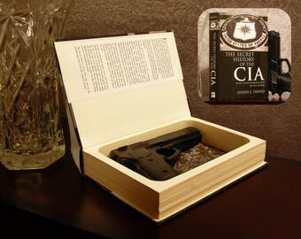 Hollow Book Gun Safe (The Secret History of the CIA)
