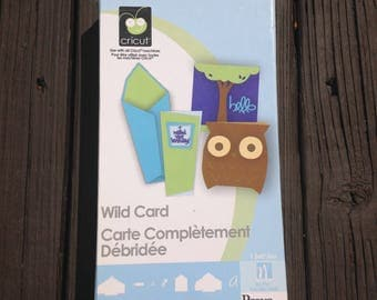 Cricut Cartridge, Wild Card, LIKE NEW