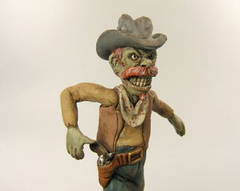 Zombie Cowboy Art