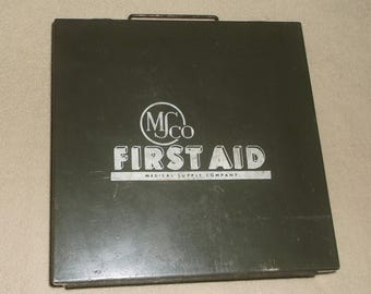 Vintage Medical Supply Company First Aid Kit • MSCO