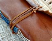 Small Leather Journal, Small Journal, Leather Journal, Pocket Journal, Handmade Paper