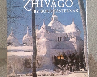 A vintage copy of The Poems of Doctor Zhivago by Boris Pasternak