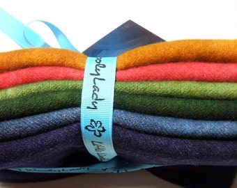WoolyLady Autumn in the Air Limited Edition 6 Color 100% Hand Dyed Wool Set
