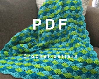 Pattern / Instant Download Coco Crochet Baby Blanket Pattern