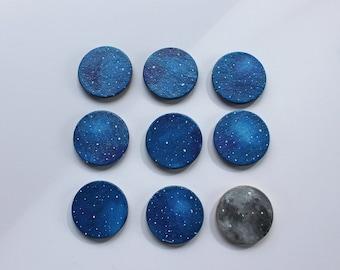 Galaxies & Moon