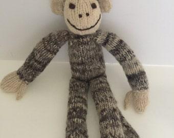 Adorable Vintage Sock Monkey