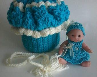 Cupcake Purse with Baby Doll