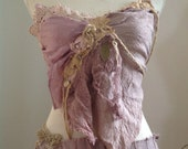Purple faery silk top