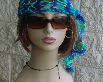 Crochet Womens Headbands, 2 for 14.00,  Boho Headbands, Summer Headbands, Crochet Headbands,Womens Accessories, Lace Hippie Headbands
