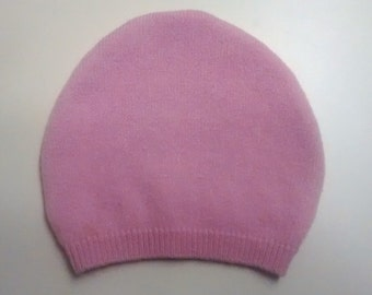 Soft baby hat, newborn, Easter, hospital, cashmere baby hat, preemie,  baby gift, pink, girl, easter