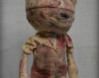 Silent Hill NURSE inspired doll Horror Handmade art Doll OOAK Dark Gruesome collectable Creepy Cute Nightmare Gore