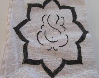 Lotus Ganesh small wristlet