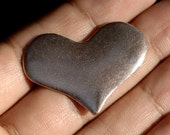 36mm x 27mm Heart Shape Variety of Metal, Charms for Jewelry Making Metalworking