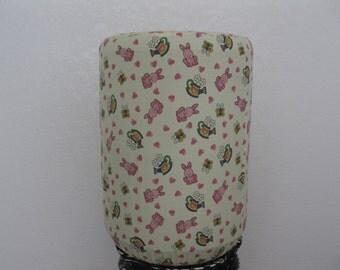 MiNi Rabbit and Flower- Home Water Bottle Cover-Water Dispenser Bottle Decor