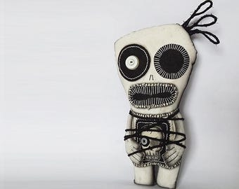 Voodoo Doll Creepy Toy Skeleton Doll Zombie Art Monster Plushie