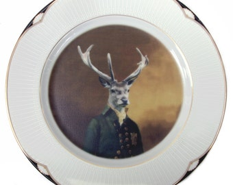 Charles van Dulce, 8th Duke of Elces Plate 7.6""
