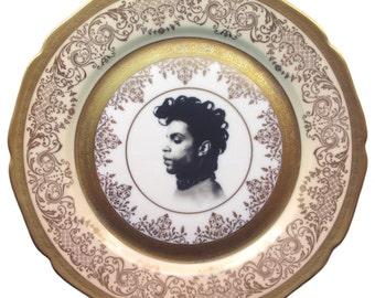 "Prince Portrait Plate 11"""