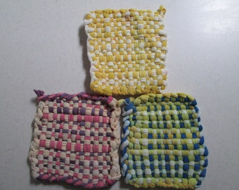 Cotton Soap Saver Crocheted By Suzannesstitches Cotton Soap