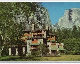The Ahwahnee Hotel Yosemite National Park California postcard