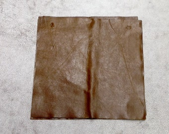 MS516.  Rio Whiskey Leather Cowhide Remnant