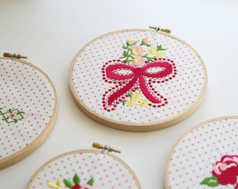 Dainty Darling - Machine Embroidery Designs from The Cottage Mama