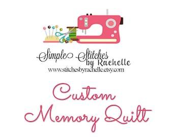 Custom Memory Quilt for Lee T.