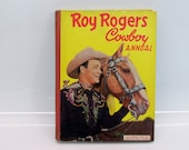 Roy Rogers Cowboy Annual 1952 Hardcover Comic Stories Photographs and More