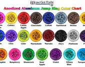 20-Gauge (AWG) 3mm Anodized Aluminum Jump Rings - 300 Pieces - Pick Your Color!