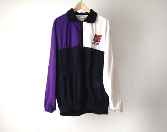 PHOENIX SUNS basketball 90s NBA sweatshirt vintage purple steve nash charles barkley jacket