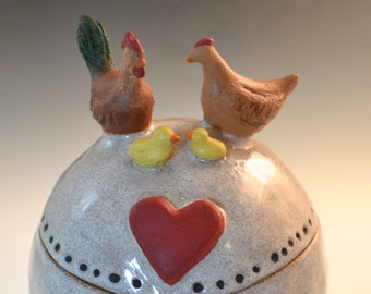 Custom Chicken, Parrot or Other bird pet urn- any bird, any breed, any small animal