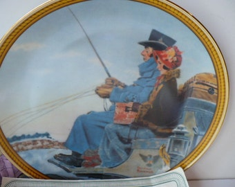 Norman Rockwell Wall Plate Gift, Decorative Plate, Housewarming Gift, Wall Decor, Wedding Gifts, Wall Hanging