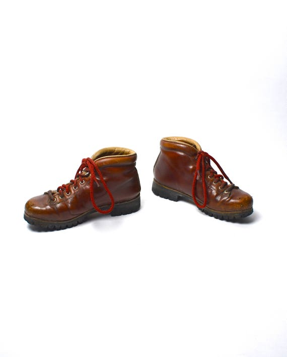 Vintage Vasque Hiking Boots Made In Italy Women S 6