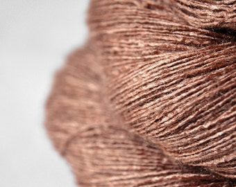 Melting milk chocolate truffles - Tussah Silk Lace Yarn