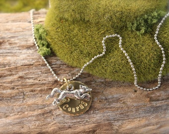 Fox Courage Necklace