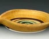 LARGE SPOON REST #4 - Ceramic Spoon Rest - Ceramic Spoon Holder - Ladle Rest - Ladle Holder - Cookware - Kitchenware - Studio Pottery