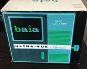 Vintage Baia Ultra Vue Automatic 35mm Slide Viewer in Original Box 2x2 Slides
